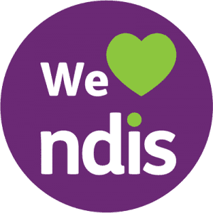 We Heart NDIS logo